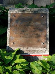 Halina Jankowska - grób na Powązkach wojskowych w Warszawie