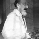 Prof. Jerzy Modrakowski, wykładowca farmakologii Źródło:Pamiętnik Towarzystwa Lekarskiego Warszawskiego – Powstanie Warszawskie i medycyna, wydanie II, Warszawa 2003 r