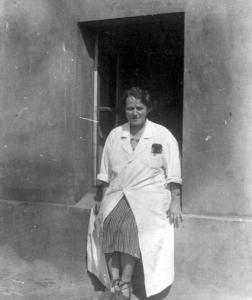 Dr Stefania Chodkowska. Szpital Wolski (1943)