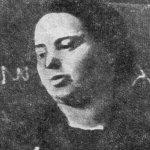 Prof. Janina Dąbrowska Źródło:Pamiętnik Towarzystwa Lekarskiego Warszawskiego – Powstanie Warszawskie i medycyna, wydanie II, Warszawa 2003 r