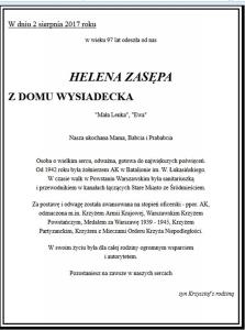 14486 Helena Wysiadecka - Zasępa