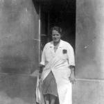 Dr Stefania Chodkowska. Szpital Wolski (1943) Źródło:Pamiętnik Towarzystwa Lekarskiego Warszawskiego – Powstanie Warszawskie i medycyna, wydanie II, Warszawa 2003 r